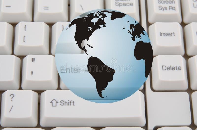 Globaal Internet royalty-vrije stock fotografie