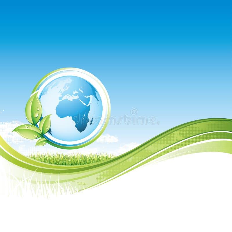 Global ilustración del vector