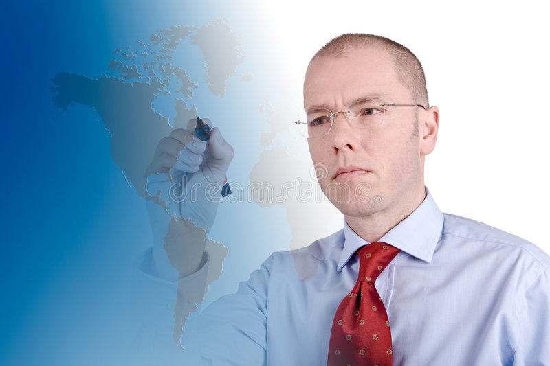 Global lizenzfreies stockbild