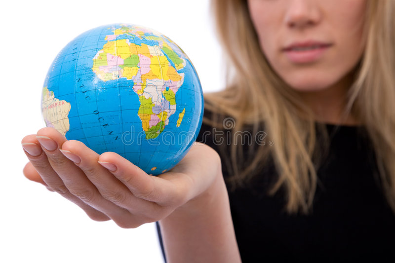 global affär royaltyfri fotografi