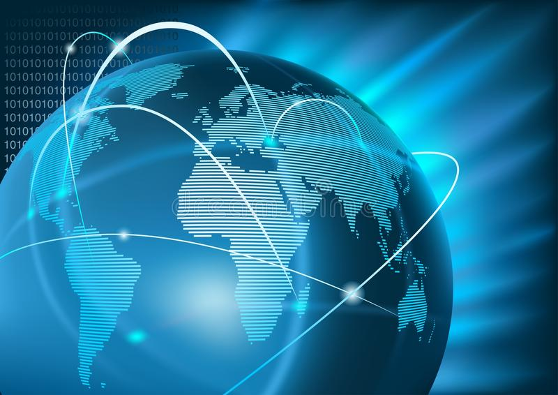 Global affär för internet
