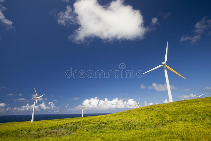 Global Alternative Green Energy Royalty Free Stock Image