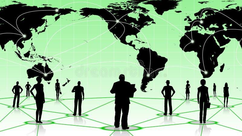 Download Global Anslutning Av Det Sociala Affärsnätverket För Folk Stock Illustrationer - Illustration av marknadsföring, globalt: 78732133