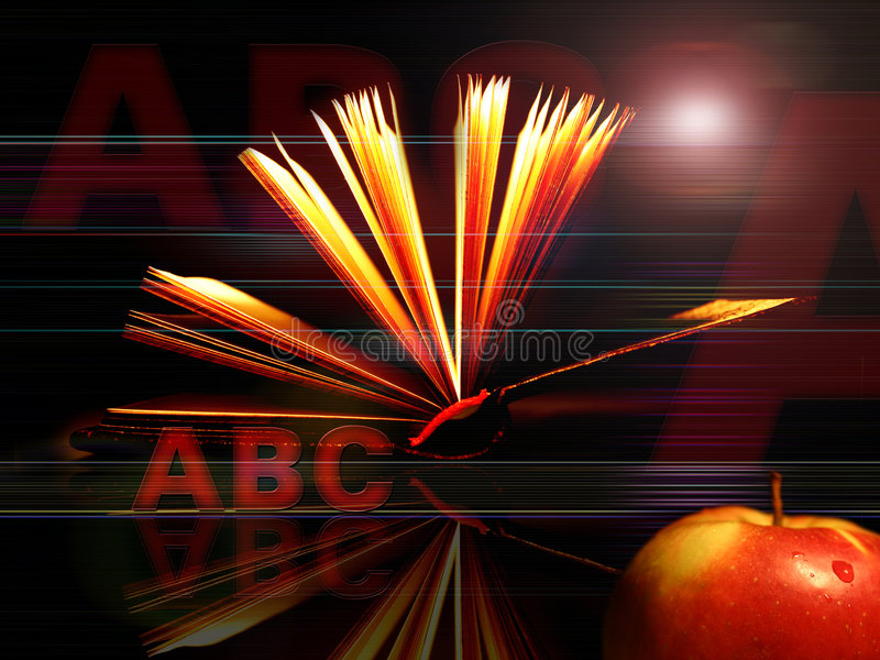 Global background series- Back to School stock illustration
