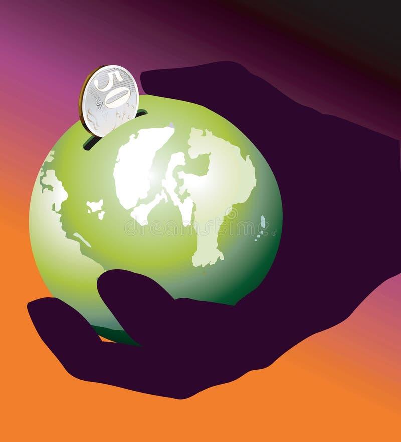 Global bank royalty free stock photos