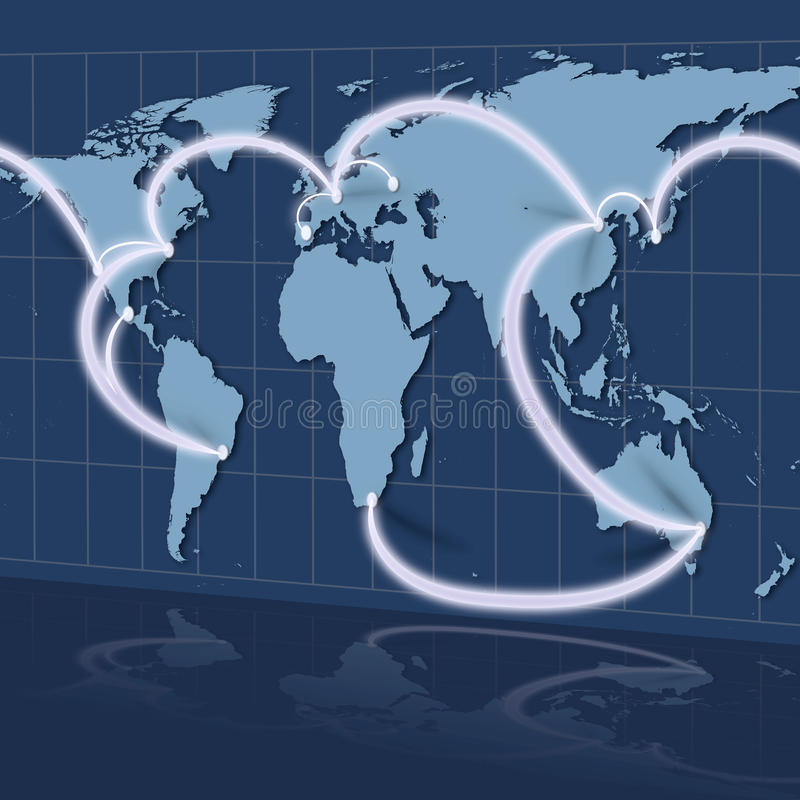 Download Global Business stock illustration. Image of concept - 19002913