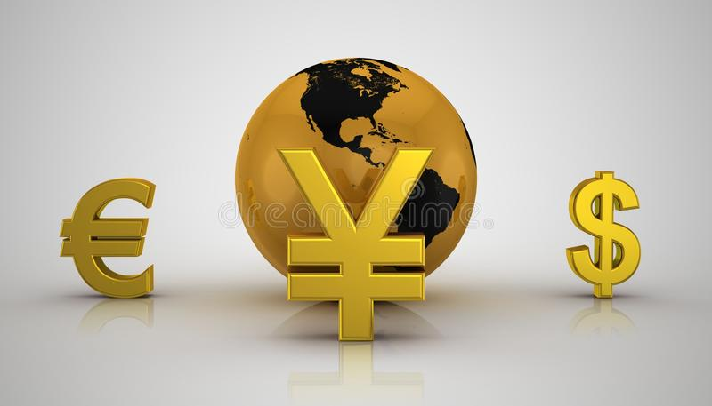 Download Global Business stock illustration. Image of exchange - 26610591