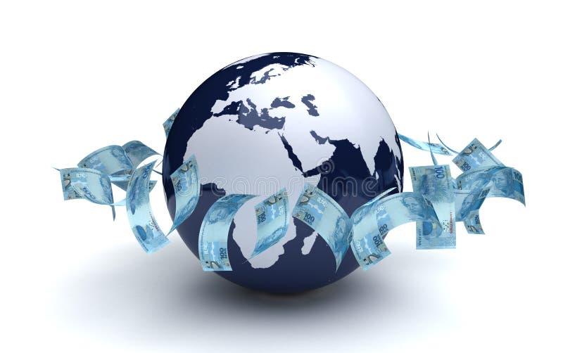 Global Business Brazilian Real stock photos