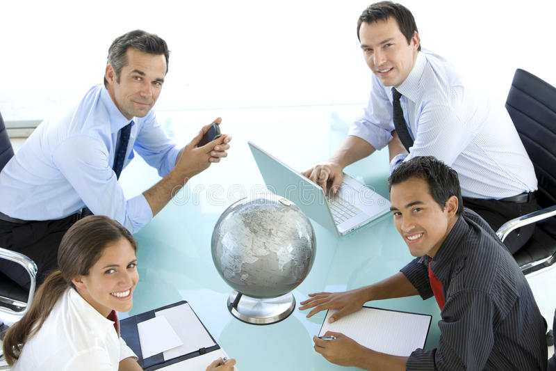 Global business is about Communication royalty free stock image