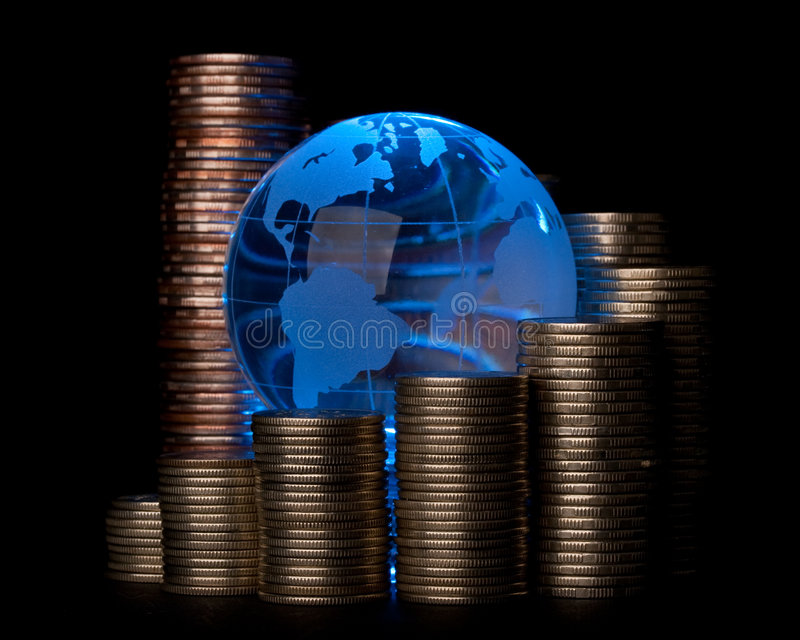 Global business concept royalty free stock photography
