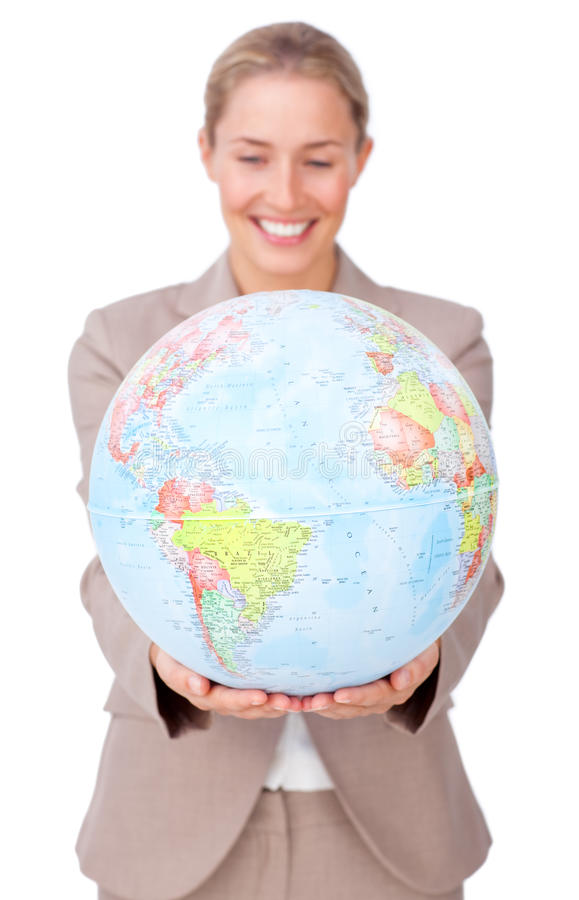 Global business expansion royalty free stock image