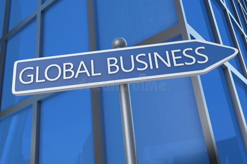 Global Business vector illustration