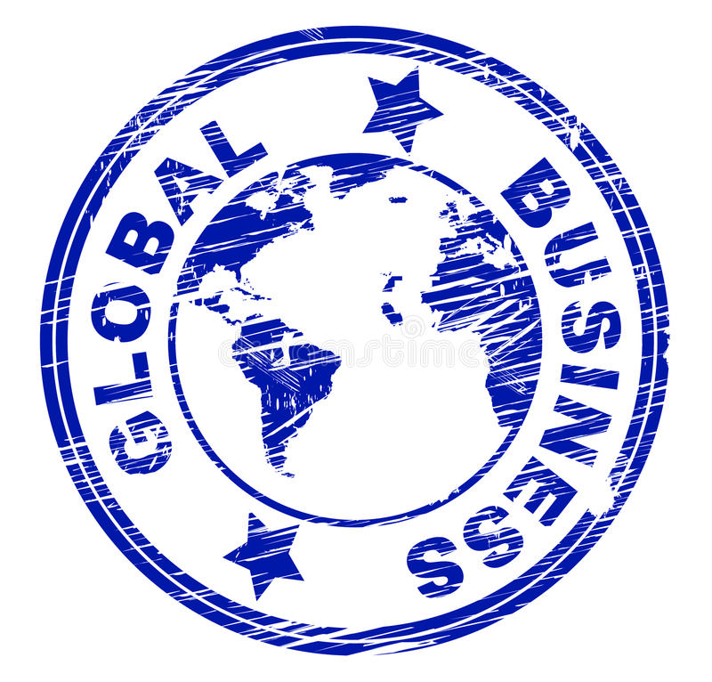Free Global Business Indicates Commercial Corporate And Worldly Royalty Free Stock Photo - 45844555