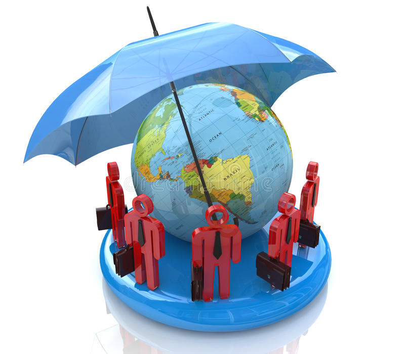 Global business team royalty free stock photo