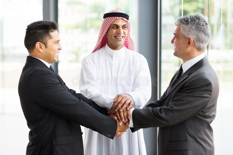 Global business team stock images