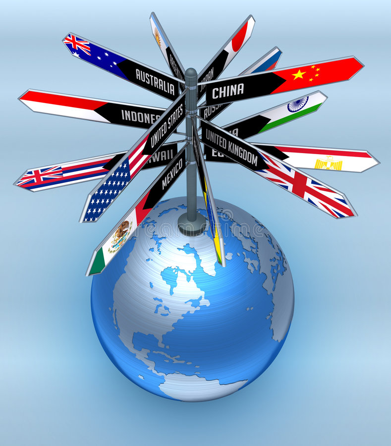 Download Global Business And Tourism Stock Illustration - Image: 3968561