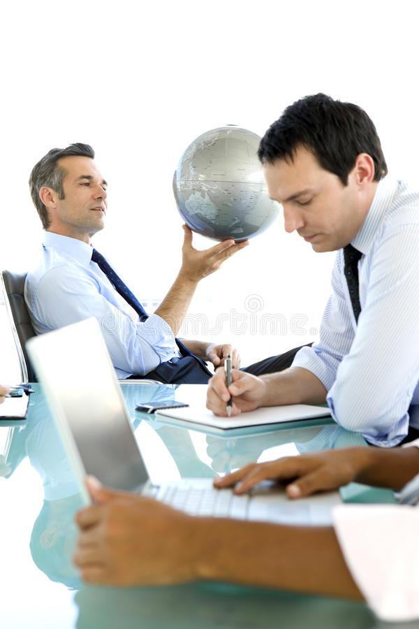 Global business is about Vision stock photography