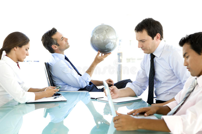 Global business is about Vision royalty free stock photography