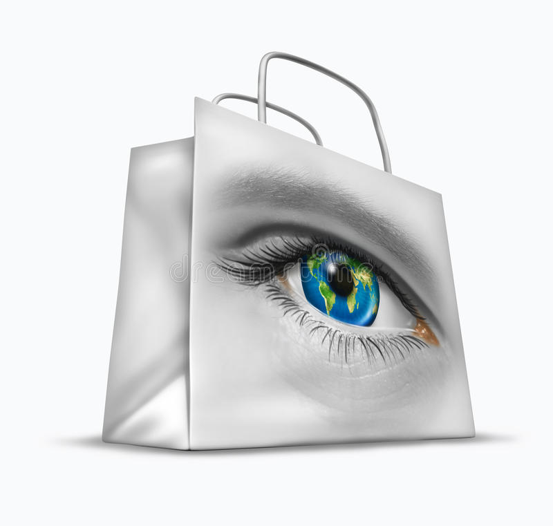 Global Buyer vector illustration
