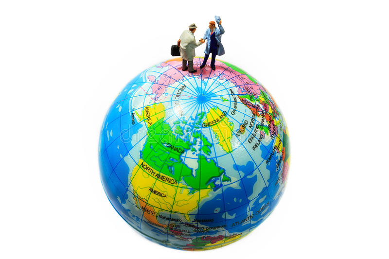 Global commitment royalty free stock photo