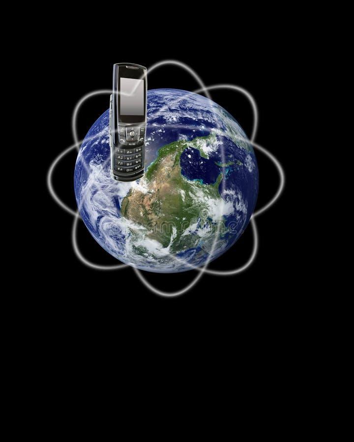 Download Global Communication stock illustration. Image of telecommunication - 4475667