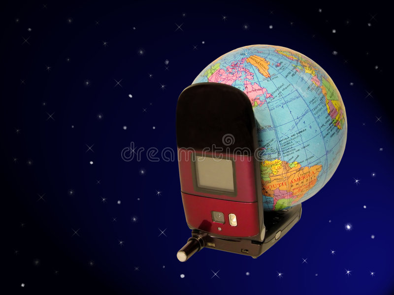 Download Global Communication-clipping Path Stock Image - Image: 765201