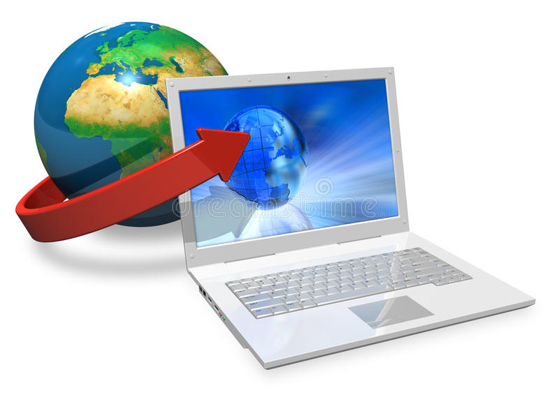 Global Communication Concept Royalty Free Stock Images