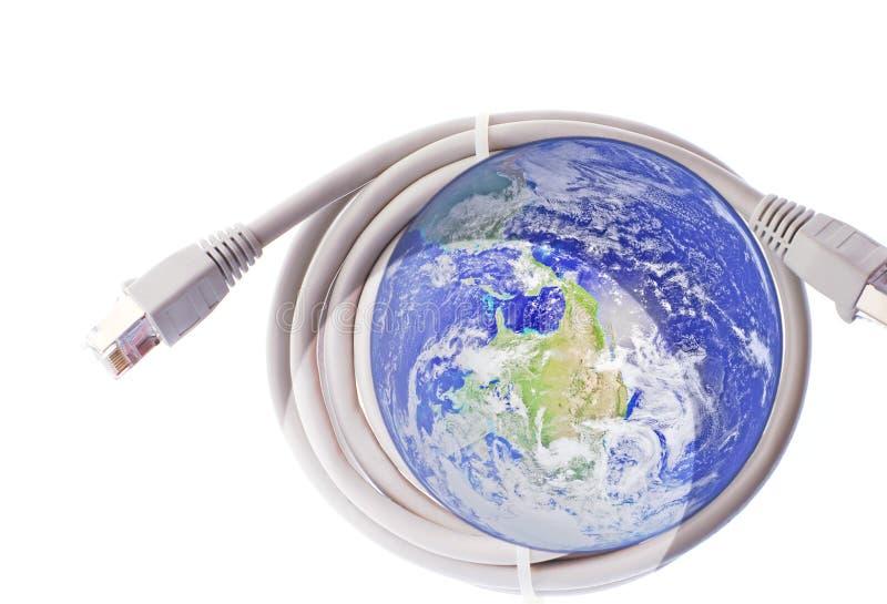 Download Global communications stock illustration. Illustration of plug - 3429447
