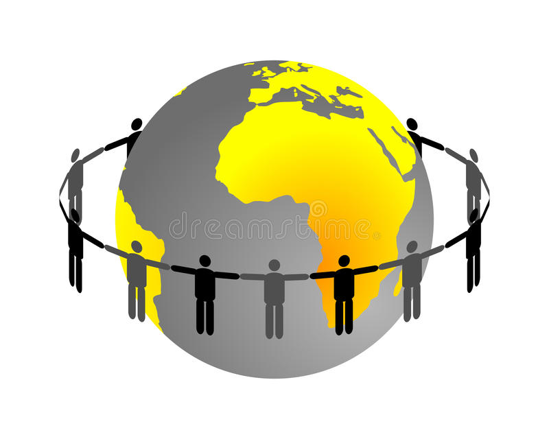 Download Global connection stock vector. Image of earth, globe - 16014085