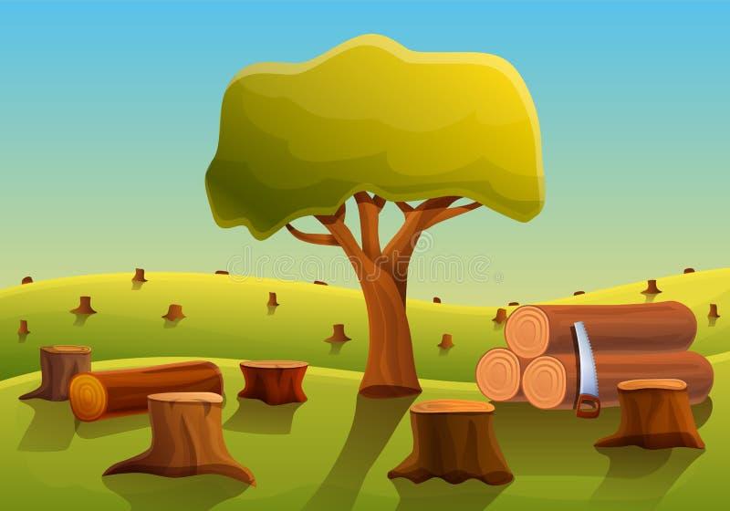Sad Deforestation Cartoon Images - Apartment Home Decor