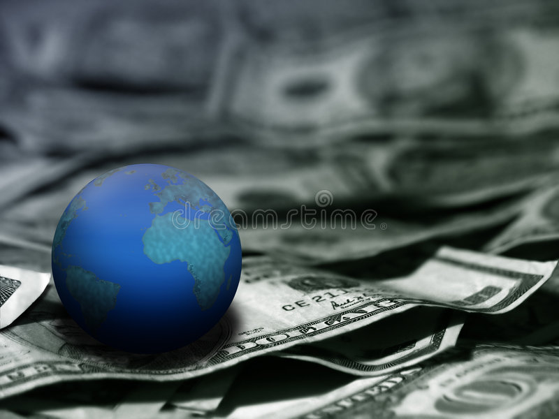 Global Economic royalty free stock photos