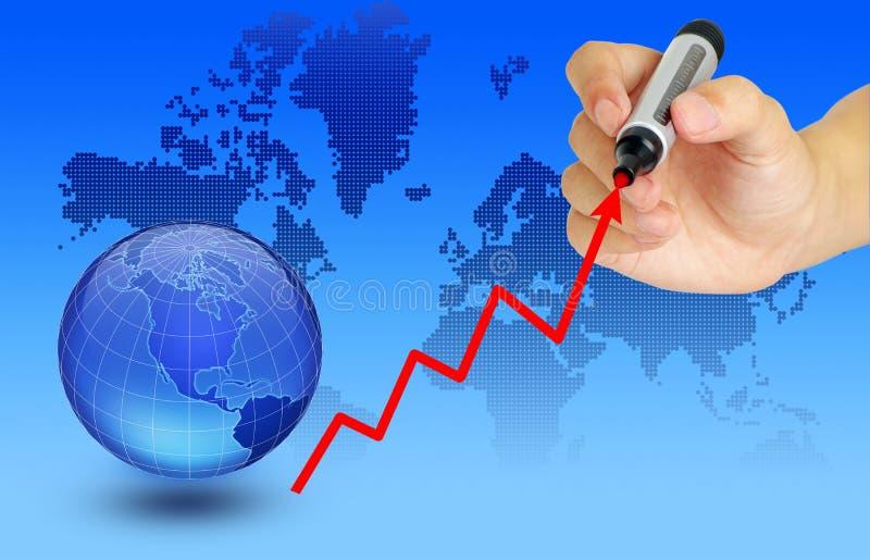 Global economy vector illustration