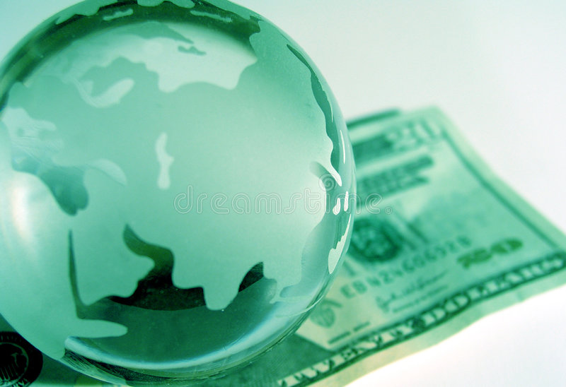 Global Ekonomi Royaltyfri Fotografi