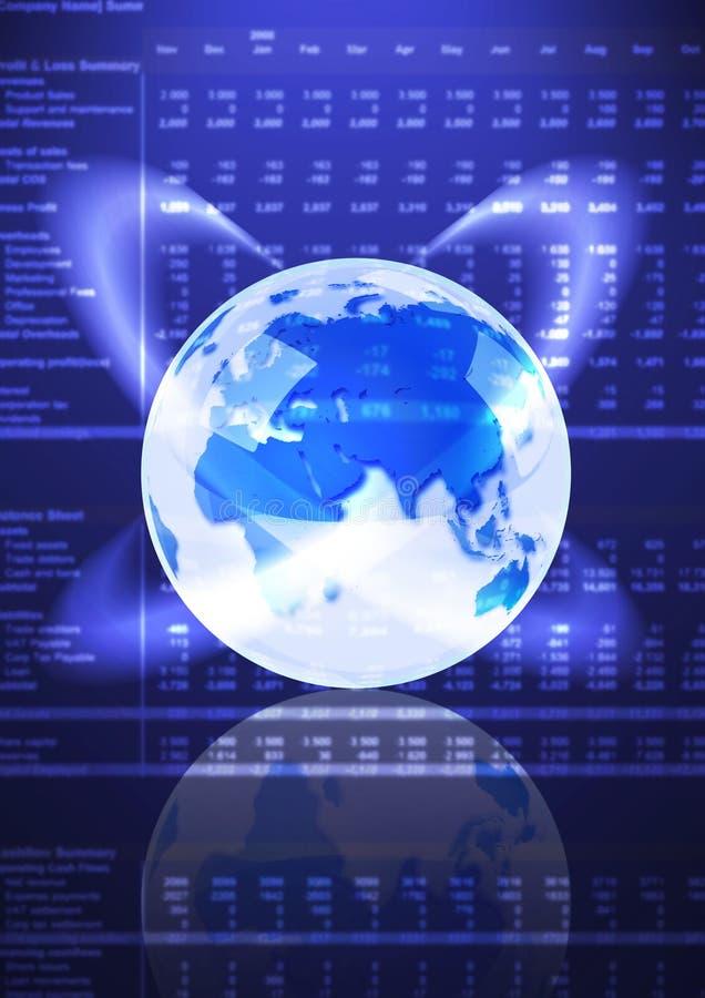 global ekonomi stock illustrationer