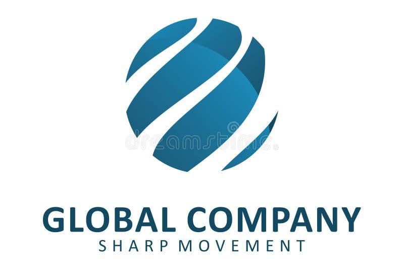 Global Företag stock illustrationer