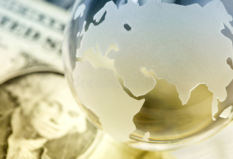 Global finances concept royalty free stock photos