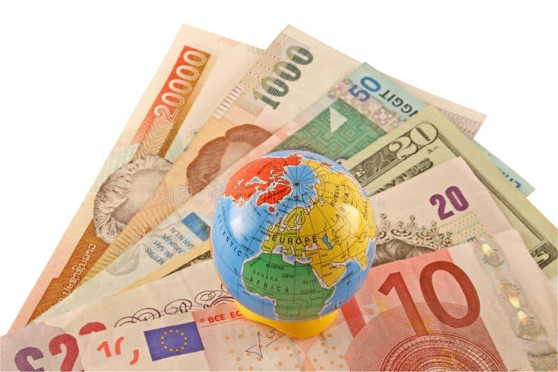 global finans arkivfoto