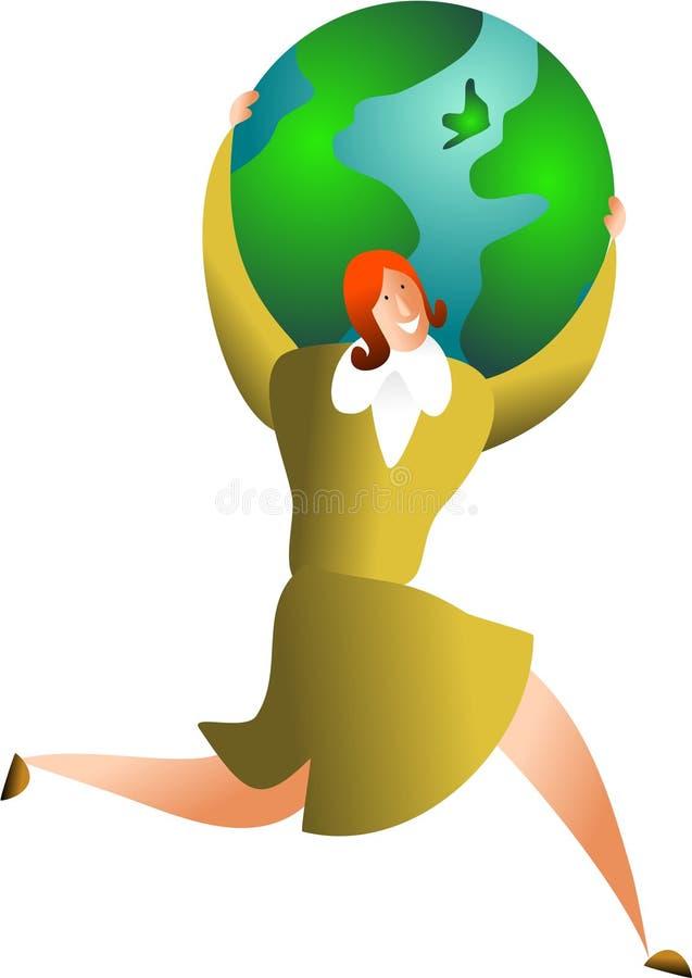 global framgång vektor illustrationer