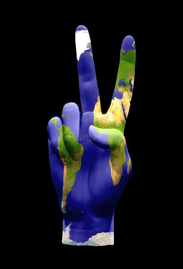 global fred vektor illustrationer