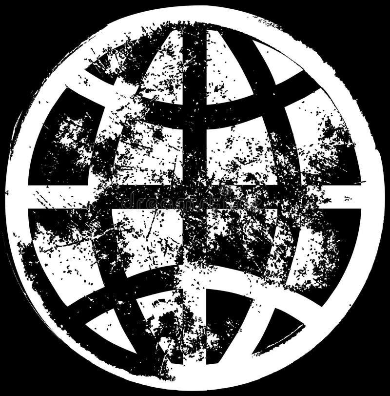global grunge för bakgrund stock illustrationer