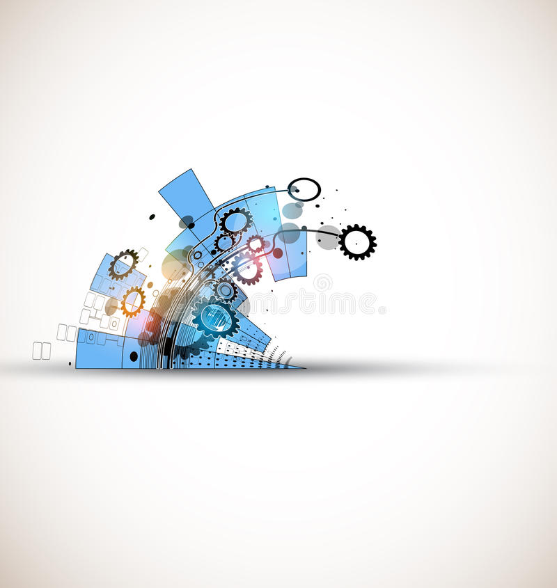 Global infinity computer technology concept business background. Abstract global infinity computer technology concept business background stock illustration