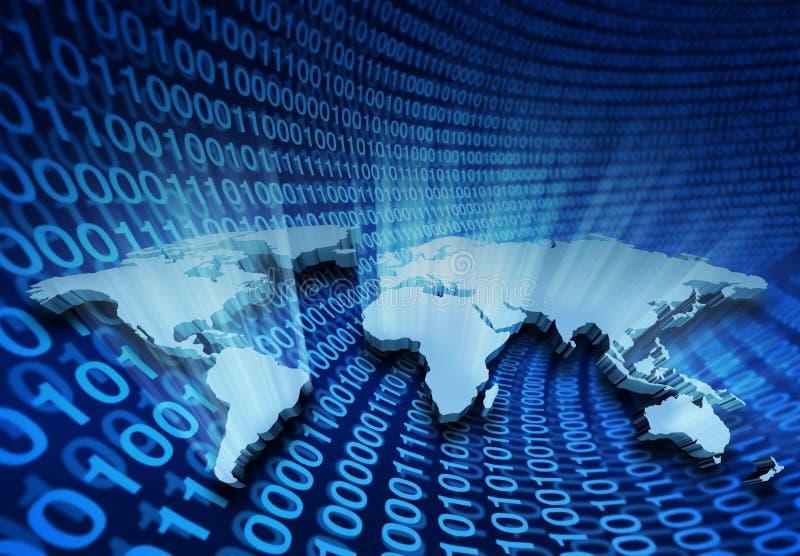 Global Internet Business vector illustration