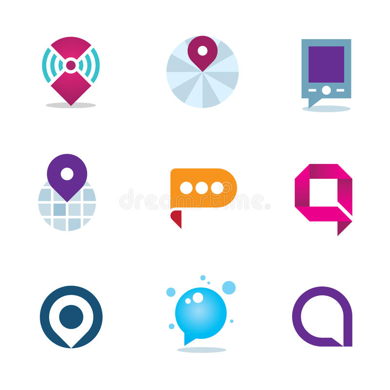 Free Global Internet Community In Home System Positioning Logo Icon Stock Images - 53239154