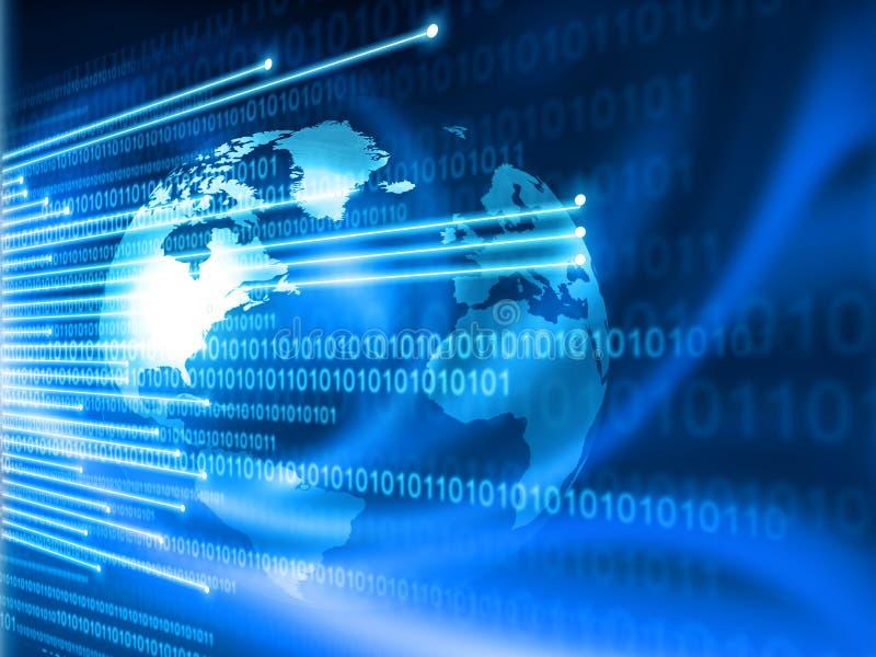 Global Internet technology stock photo