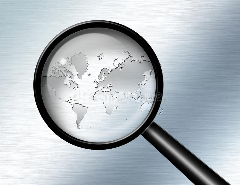 Download Global Investigate Abstract Stock Illustration - Image: 24333084