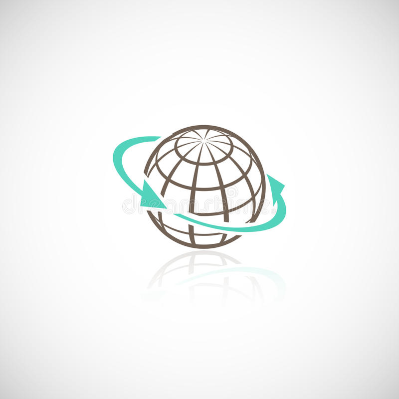 Global network concept royalty free illustration