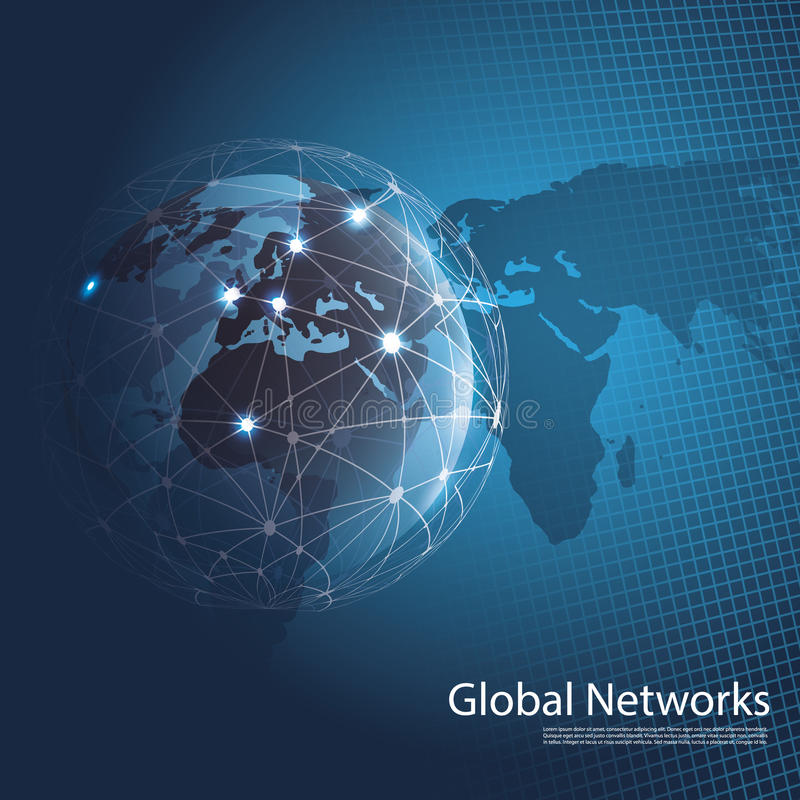 Free Global Networks Stock Photo - 42628500