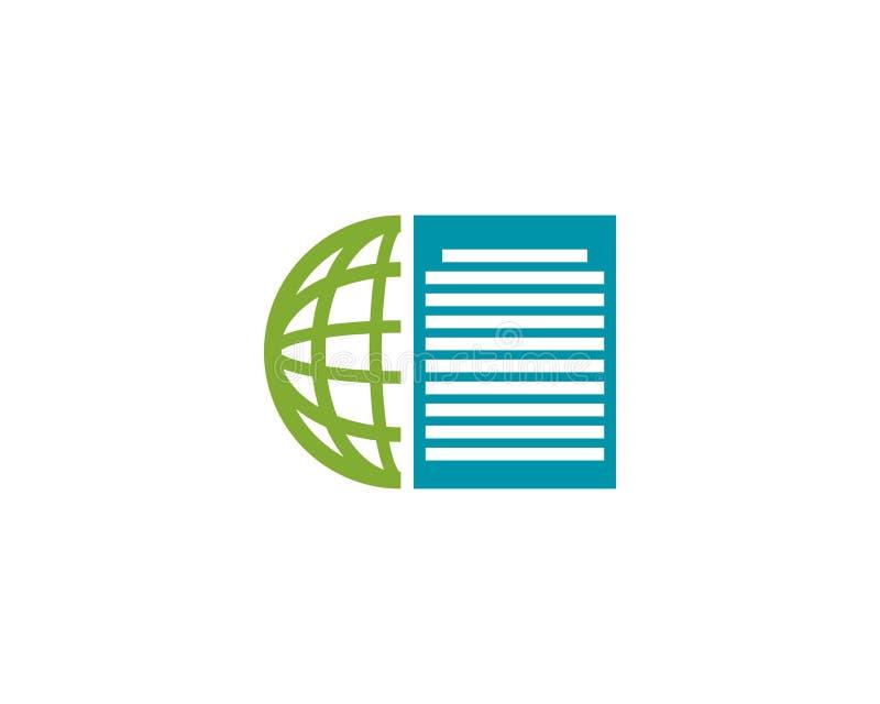 global news logo vector illustration