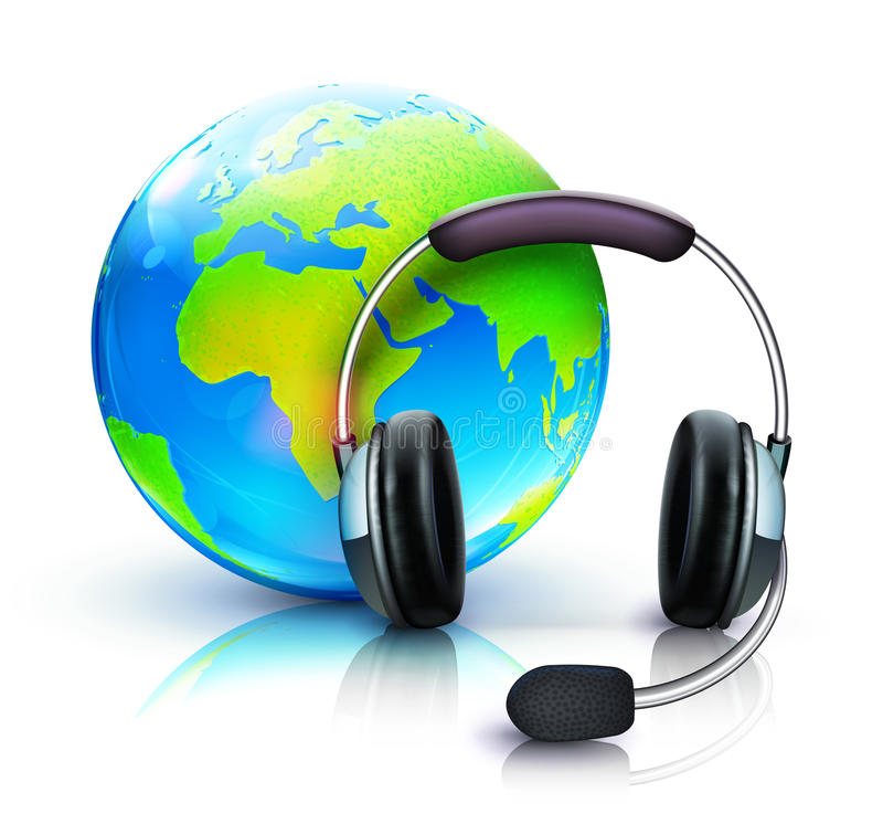 Download Global Online Support Royalty Free Stock Photo - Image: 26101645