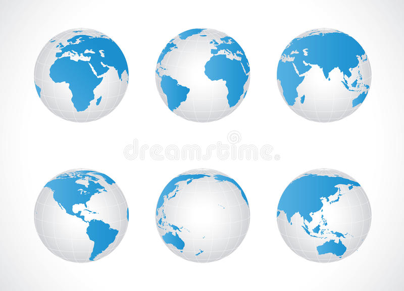 Download Global set stock photo. Image of north, gyration, icon - 30358336